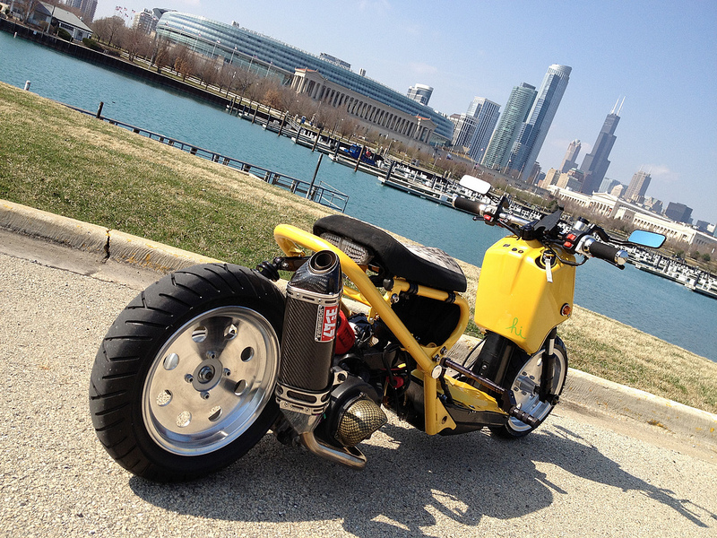 DROWsports Blog | Custom Honda & Yamaha Scooter Parts