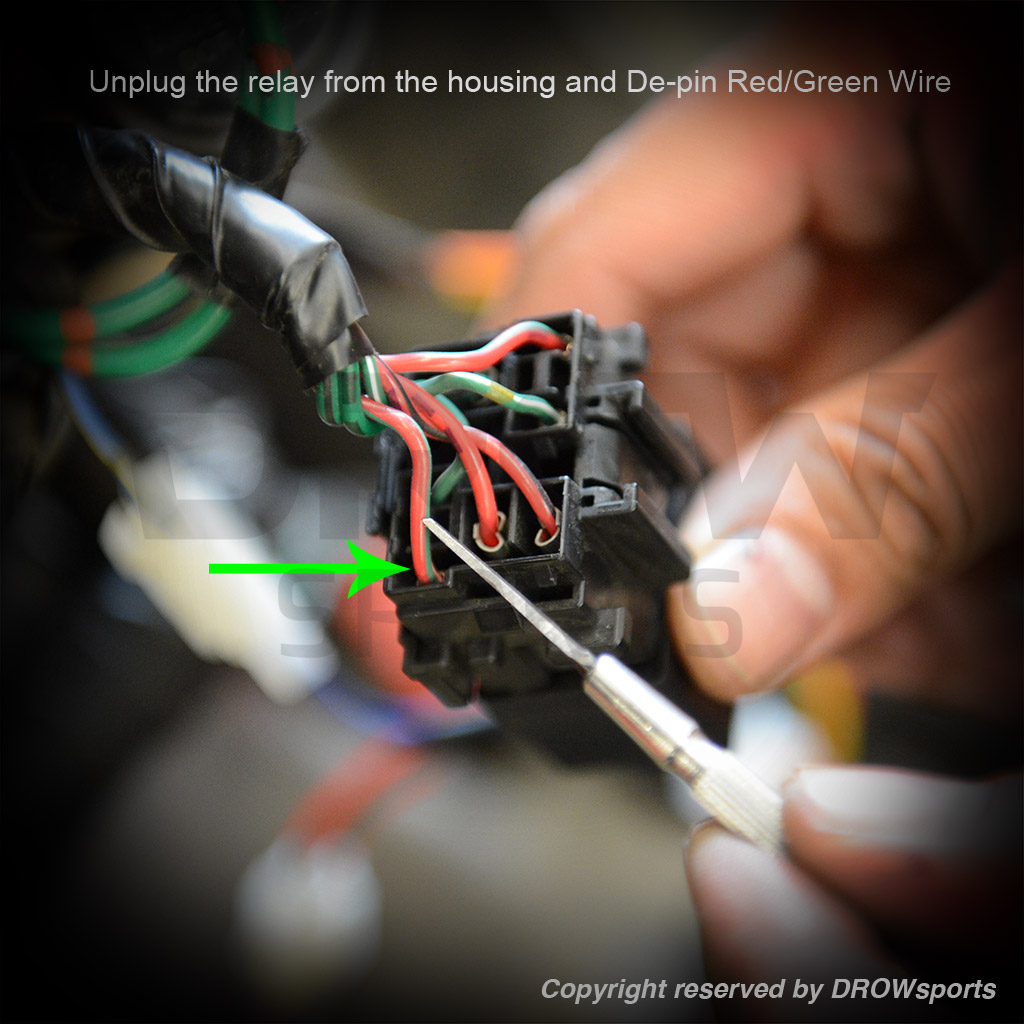 Ncy Ruckus Cdi Installation How To Wiring Relay Pins Red Green Power Wire