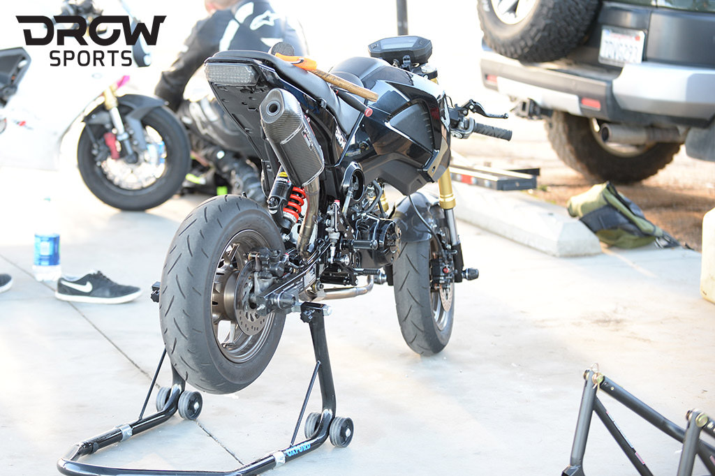 Grom K-Tech Forks and Shock