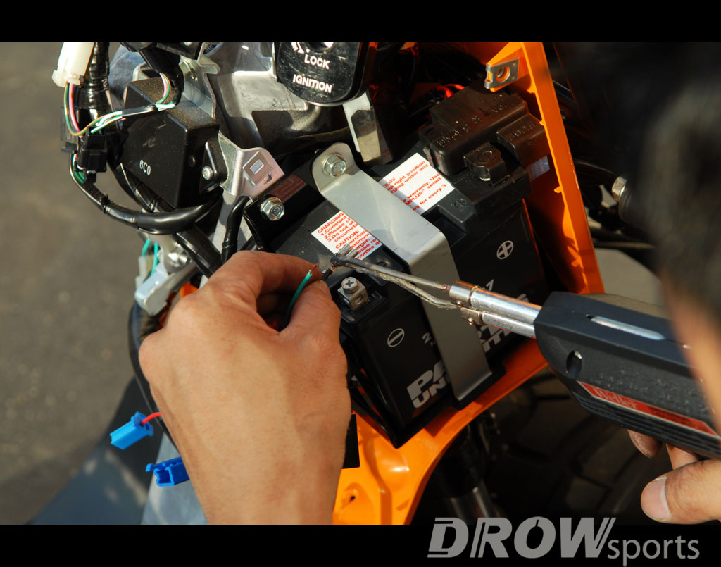 How To Install Posh Cdi Unit On Honda Ruckus Drowsports Blog Daytona Wiring Diagram Solider Power Wire Harness